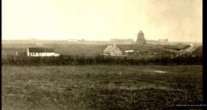 Stærdal Mølle som ruin før 1919