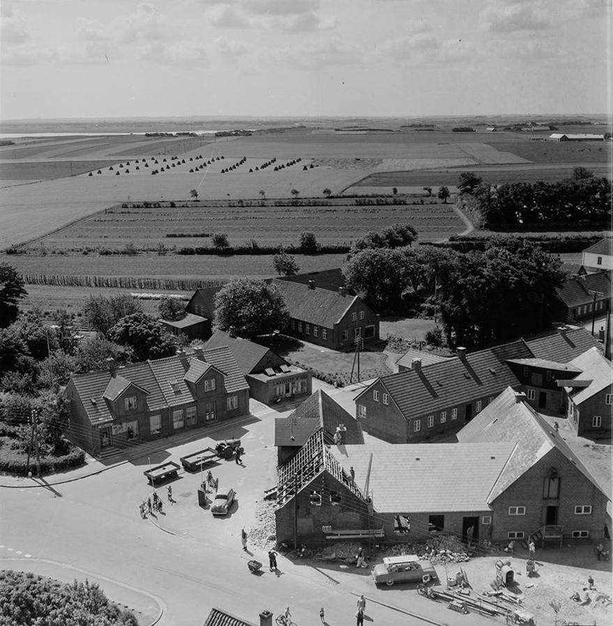 Brugsen og Gartnerjorden i 1950'erne