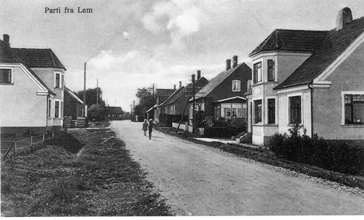 Østerbrogade set fra øst-1920