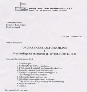 Kraftvarme - generalforsaml 15