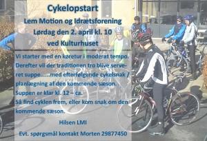 Cykelopstart 2016