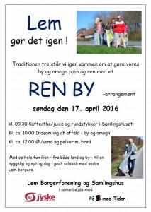 Ren By 2016 - plakat