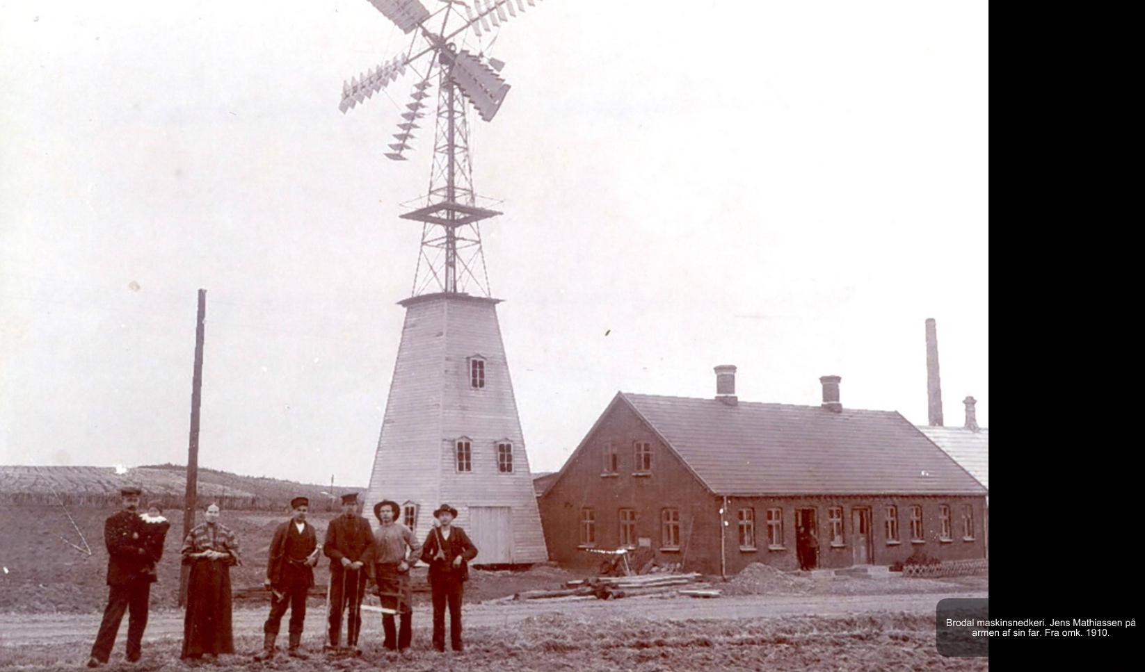 Brodal Maskinsnedkeri fra omkt. 1910