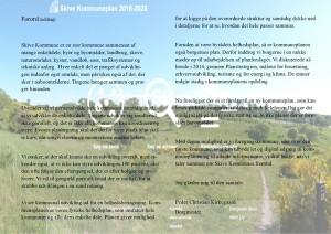 Forord til kommuneplan