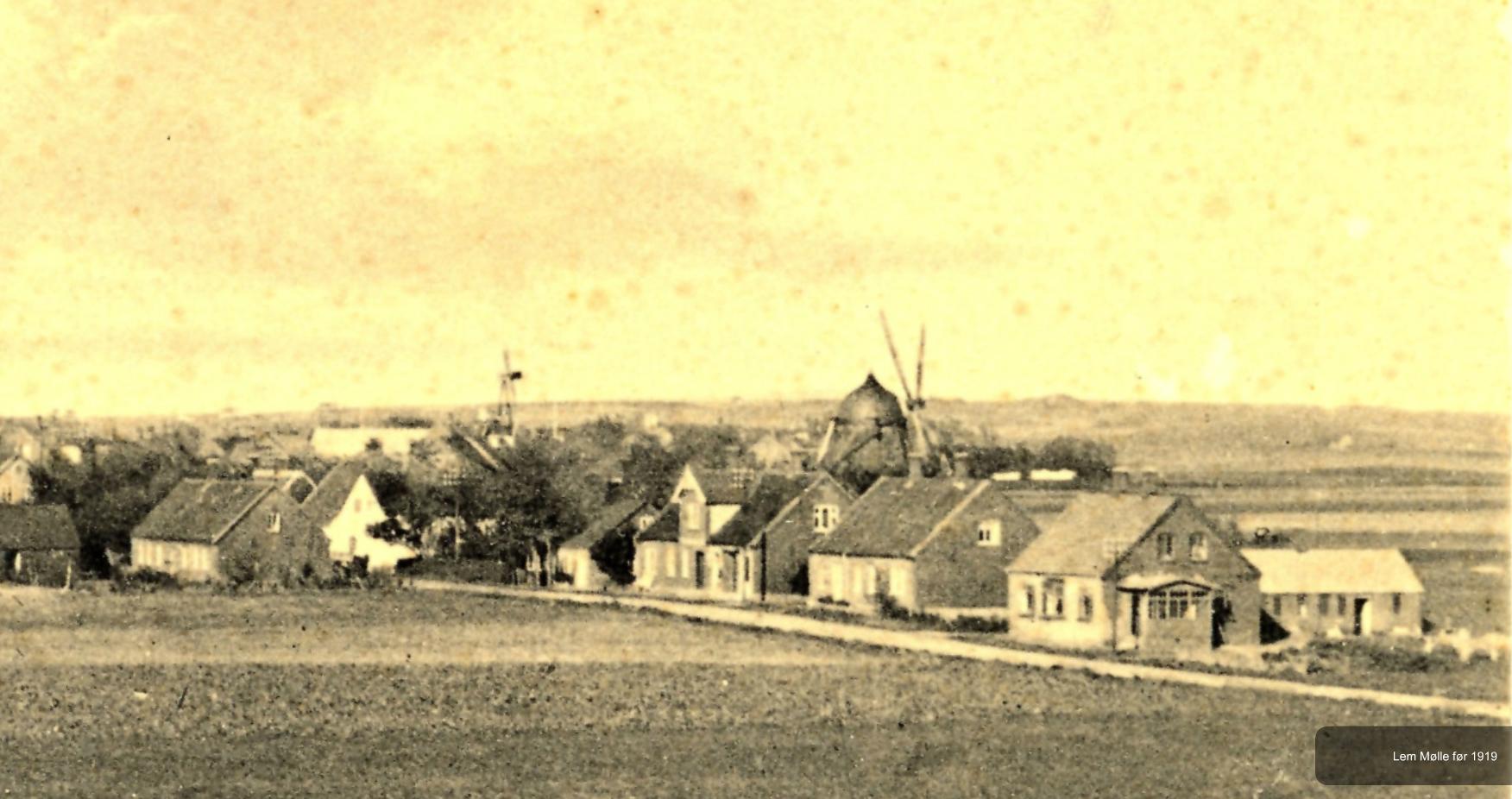 Lem Mølle før 1919