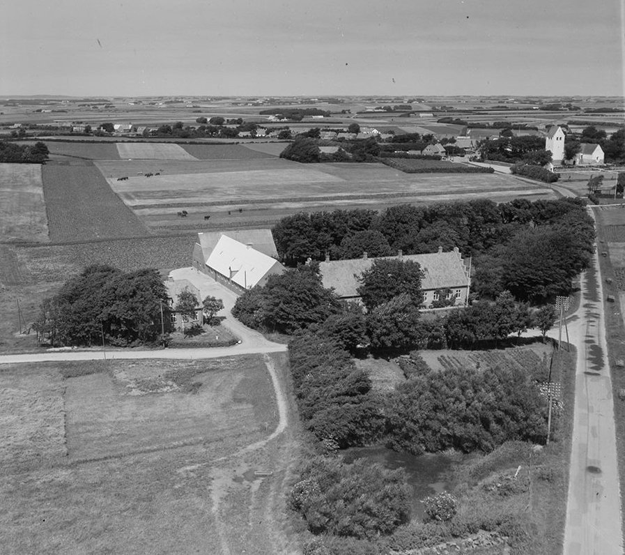 Lem præstegård 1957